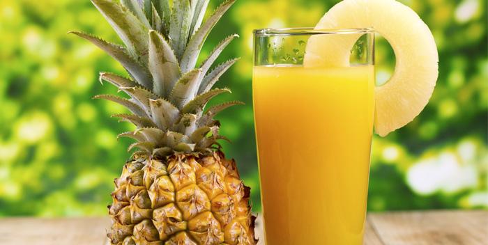 Польза и вред ананасового сока