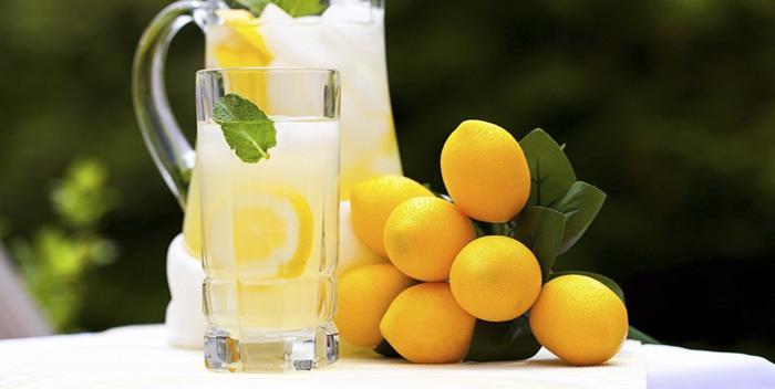 Польза и вред лимонного сока