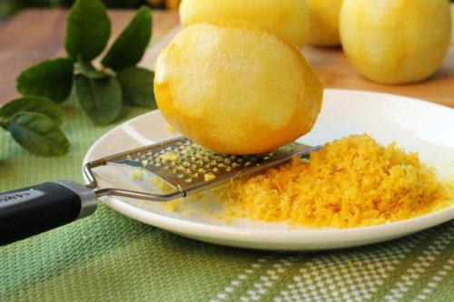 цедра лимона:польза и вред
