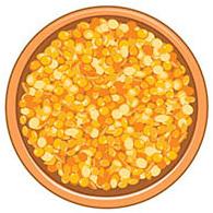 Желтая чечевица