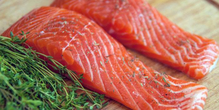 Как правильно выбрать лосось?