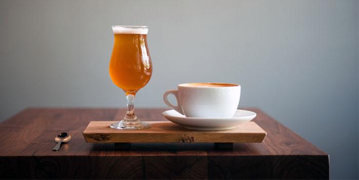 Пиво и кофе