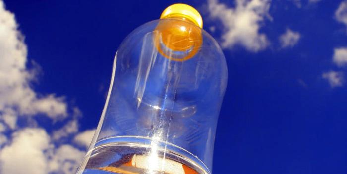 Пластмассовая тара - причина головных болей у людей