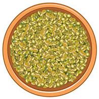 Зеленая чечевица