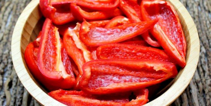 Как и сколько варить болгарский перец?