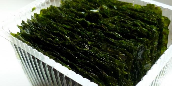 Сухая морская капуста