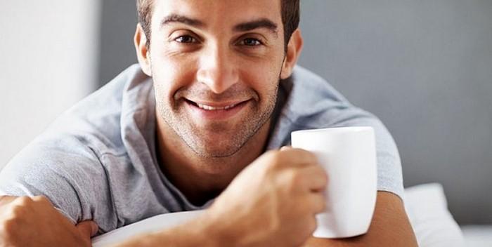 Зеленый чай - напиток для мужчин
