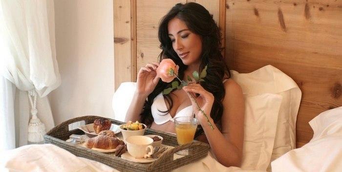 Завтрак полезен для зачатия ребёнка