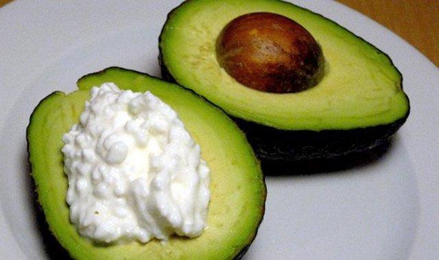 Авокадно-творожная