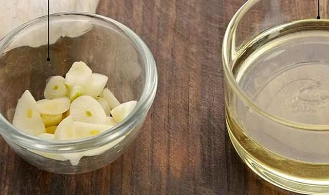 Касторовое масло с чесноком