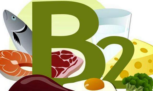 Продукты с содержанием витамина B2
