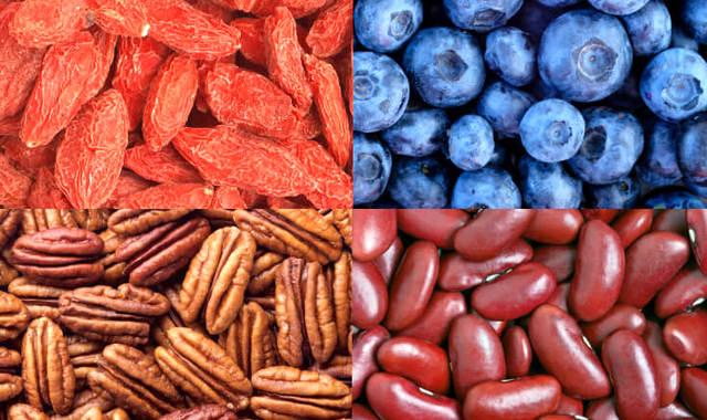 10 продуктов с высоким содержанием антиоксидантов