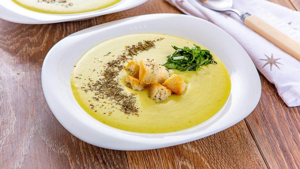 Крем-суп из тофу