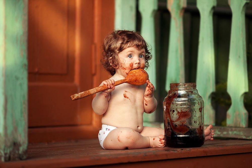 малиновое варенье для детей