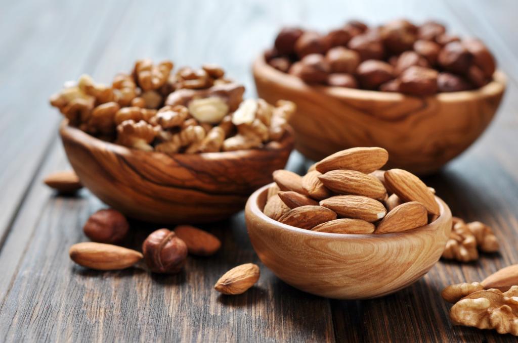 Орехи и семечки-продукты по группе крови