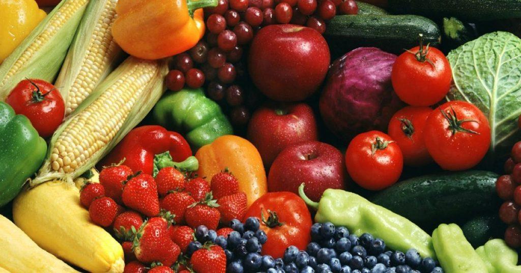 Овощи, фрукты, ягоды: правильное питание
