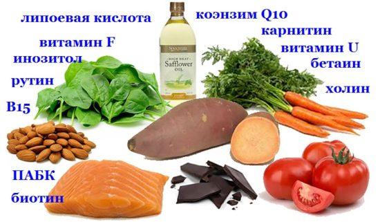 витаминоподобные вещества