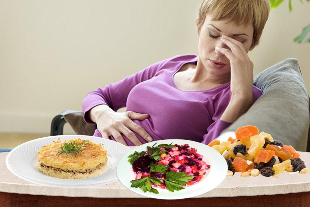 Как проявляется нарушение режима питания