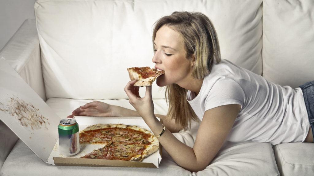 сильная зависимость от еды