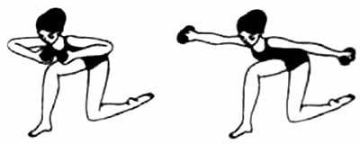 упражнения на грудь в домашних условиях