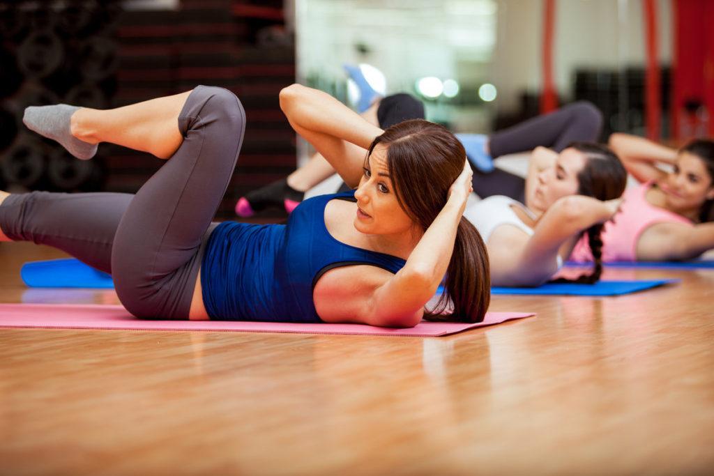 комплекс гимнастики для женщин