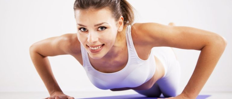 Комплекс упражнений для поддержания формы и размера груди