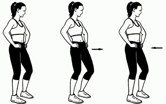упражнения для похудения живота и ног