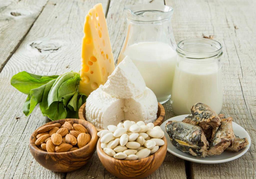 Кальций в продуктах питания: минеральные вещества
