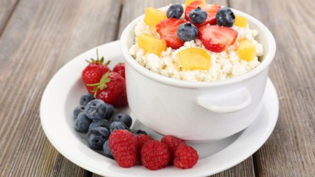Творожно-фруктовый день