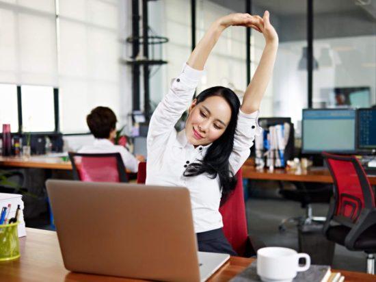гимнастика на работе