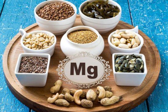 магний в продуктах питания: минеральные вещества в составе пищи