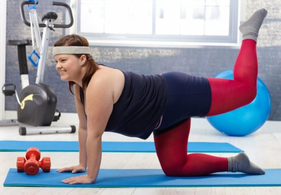 лечебная гимнастика при ожирении.