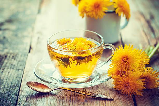 Чай из одуванчика лекарственного