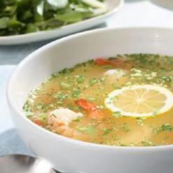 Юкатанский лимонный суп