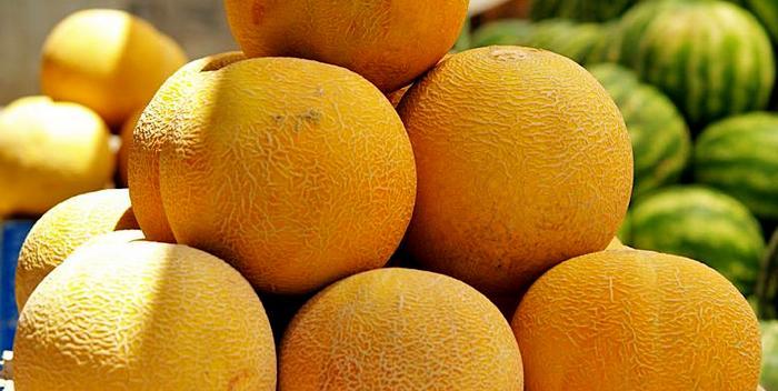 Шесть спелых дынь