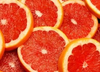 Сочный грейпфрут