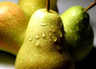 Спелые и вкусные груши